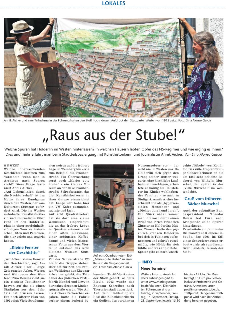 Stutgarter Wochenblatt 15_8_18